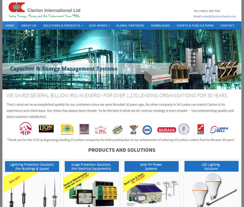 www.clarionsrilanka.lk